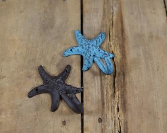 Cast Iron Starfish Coat Hook