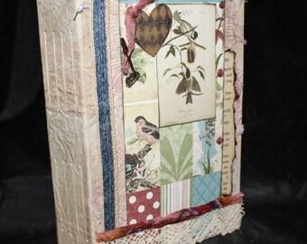 JAMIE ... Junk Journal, Writing Journal, Personal Journal, Notes Journal, Handmade Journal, Diary Journal, Handcrafted Journal