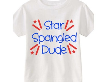 Star Spangled Dude- perfect for 4th of July!