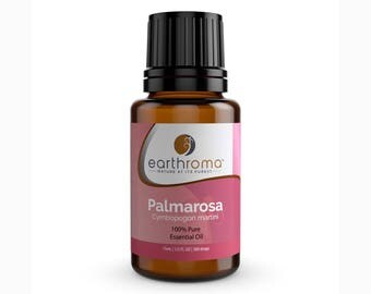 Palmarosa Essential Oil | 5 mL | 15 mL | 30 mL | 100% Pure Therapeutic Grade