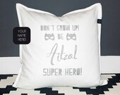 Name Pillow for boys and ...