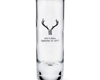 custom tall shot glass quantity of 36