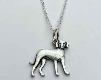 Vizsla Charm Necklace