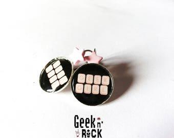 Earrings geek - geeky girl!