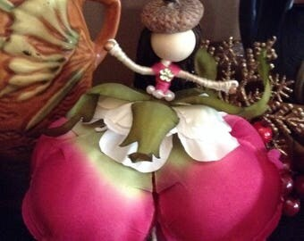 Bendable one of a kind Waldorf inspired fairy