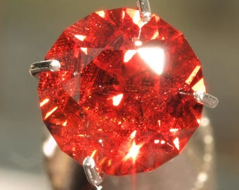 Red Spessartite Garnet