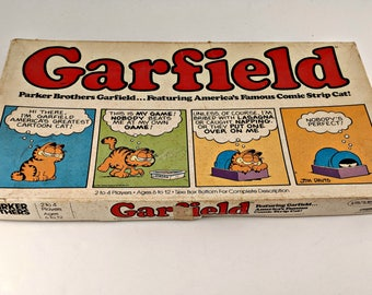 Vintage Garfield Board Game by Parker Brothers COMPLETE