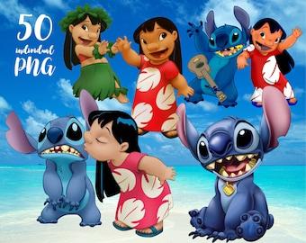 Lilo and Stitch Clipart Disney Clipart ,Princess Clipart,cartoon clipart