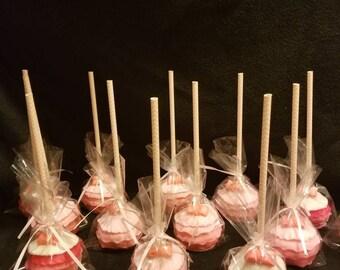 Ruffle cake pops (order of 13)