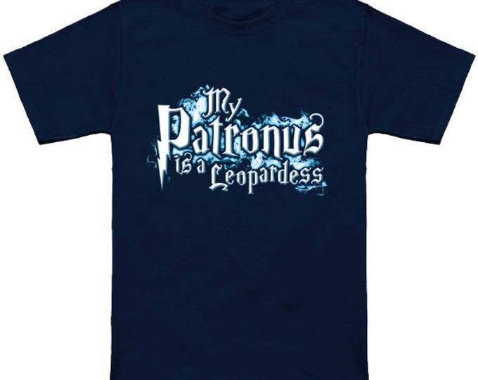 My PATRONUS Is A LEOPARDESS Custom T-Shirt Magic Animal Charm Fantastic Beasts Wizard Spell Fantasy Shirt