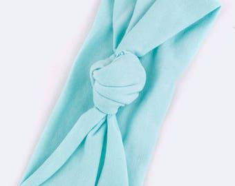 Mint Green Bow Knot Headband - Toddler Headband