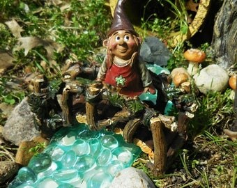 20% OFF STOREWIDE Fairy Garden Gnome, Miniature Gnome for your Fairy Garden, Terrarium, and Outdoor Miniature Garden Decorations
