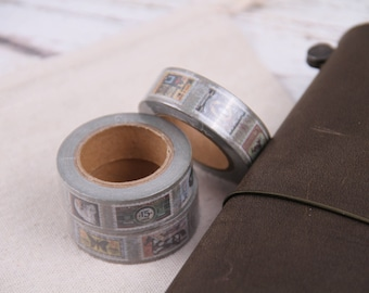 Vintage stamp washi tape