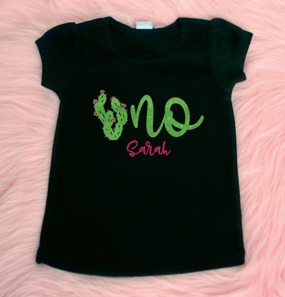 Uno First Birthday Shirt Cactus 1st Birthday 1st Birthday