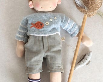 Waldorf doll boy Pip