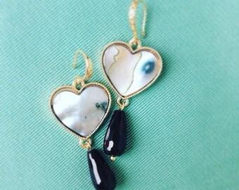 Earrings Vancleef style 2 types