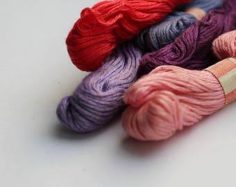 Embroidery Thread Set Vintage Thread Needlework Thread Soviet Floss Embroidery Floss Cotton Thread Cross Stitch Thread Cross Stitch Floss