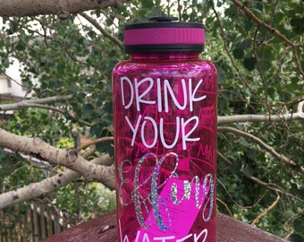 Drink Your Effing Water 32 oz. Water Bottle