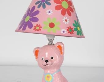 Children's Bedroom Lamps- Kittens & Piglets