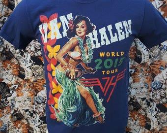 2015 Van Halen World Tour Band Shirt Size Small