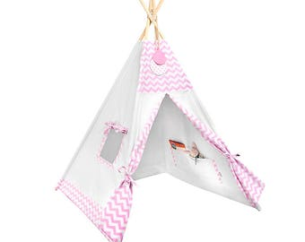 Tipi - Kids Play Tent Teepee - Candy