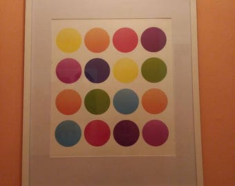 "Colorful ""Dots"" Print"