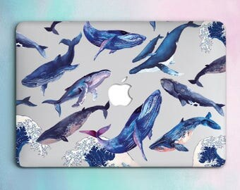 Whales Macbook 12 Case Macbook Pro Hard Case Macbook Pro Retina 13 Case Ocean Macbook Air 13 Hard Case Macbook Air 11 Case Laptop Cover 115