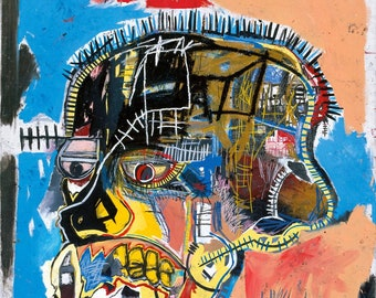 Jean-Michel Basquiat Untitled (Skull) 1981