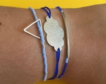 """Bracelets trio """"Heart of the ocean"""""""