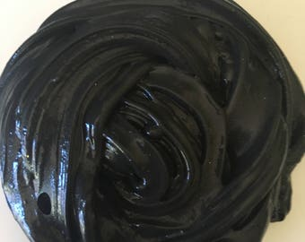 Black glossy slime