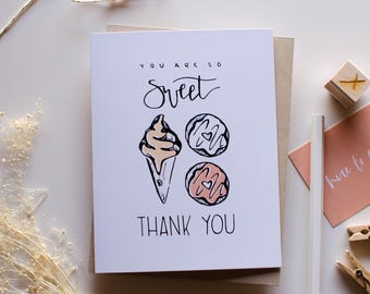 Thank You - Gratitude - Greeting Card
