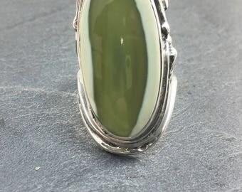 Imperial Jasper Sterling Silver 925 thousandth Ring Imperial Jasper silver sterling ring size 52 size us 6.25 euro swiss 12