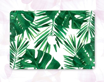 Palm Leaves Macbook Pro 15 Case Macbook Air 11 Case Macbook Pro 13 Case Floral Macbook Air 13 Case Plants Macbook Air Case Macbook 12  225