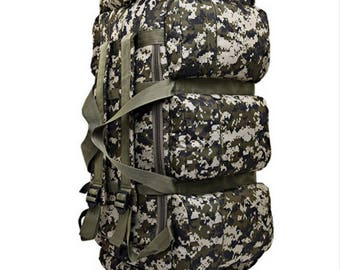 Men's Military Tactics  Multifunction Waterproof Backpack