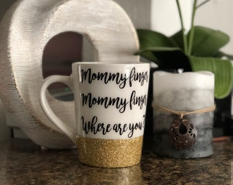 Mommy Finger Coffee Cup