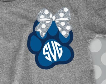 Paw SVG, Cat Paw svg, svg, tigers svg, cougars svg, wildcats svg, panthers svg, bobcats svg, kentucky, houston, arizona, louisiana, alabama
