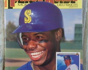 1990 Baseball Price Guide - Vintage Ken Griffey Jr - Vintage Baseball - Baseball gift - Seattle Mariners gift - Ken Griffey gift - Baseball