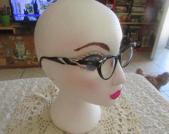 Vintage Artcraft Cat Eye Frames/Vintage Artcraft Eyeglasses/Vintage Eyewear/Vintage Eyeglass Frames/Cat Eye Frames