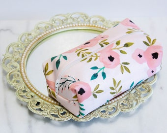 Rose Makeup Bags, Floral Makeup Bag, Rose Cosmetic Bag, Bridesmaid Gift, Gift for Her, Gift for Best Friend, Gift for Sister, Bridal Gift