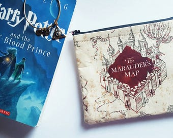 The Marauder's Map - Harry Potter Makeup Bag