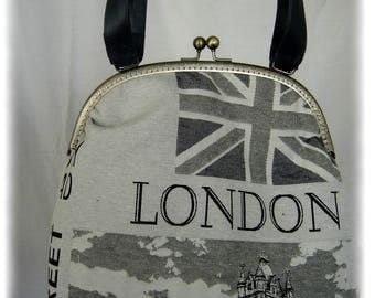 bag with back clasp