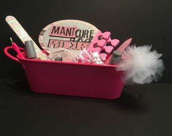 Manicure/Pedicure Bath Spa gift set