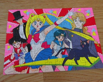 30% OFF! Vintage Japanese Sailor Moon Puzzle - Complete