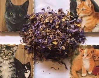 1 oz Blue Lotus (Nymphaea Caerulea) Dried Flower Tea Smoke herb Sacred