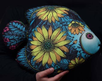 Decorative Pillow Fish  Home Decor Living room decor Gift for here