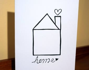 Housewarming/ New Home Greeting Card