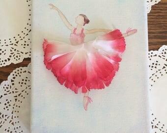 Flower Ballerina Canvas