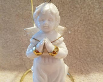 FREE SHIPPING , Mikasa Angel Christmas Ornament