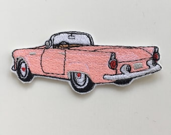 Iron On Embroidered Cadillac Car