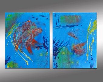 "SC-Art - abstract & modern / Acrylic Painting / 20"" x 31"""